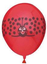 Viborg Balloons Ladybird 8pcs 80805H