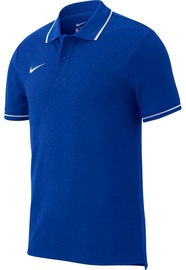 Nike Men's T-Shirt Polo Team Club 19 SS AJ1502 463 Blue M