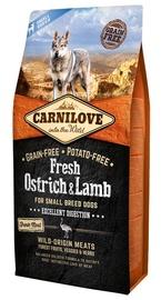 Carnilove Adult Dog Small Breeds Fresh Ostrich & Lamb 6kg