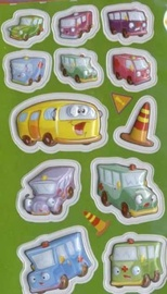 Herlitz Stickers Transport