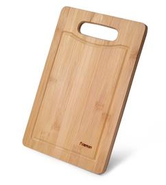 Разделочная доска Fissman Bamboo, коричневый, 180x280 мм