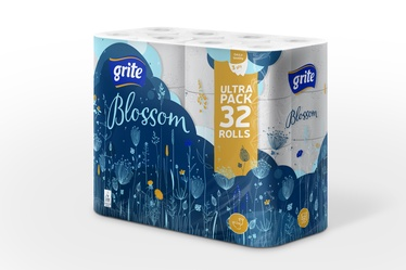 Tualettpaber Grite Blossom, 32 tk