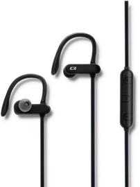 Qoltec Sports Bluetooth In-Ear Earphones Black 50826