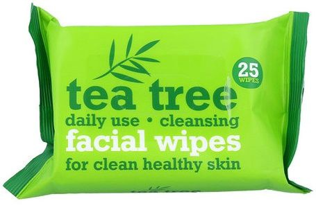 Xpel Tea Tree Cleansing Facial Wipes