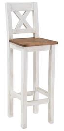 Барный стул Signal Meble Poprad Honey Brown/Bleached Pine, 1 шт.