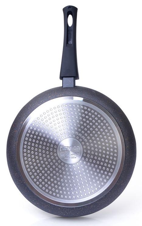 Fissman Black Cosmic Frying Pan With Detachable Handle D28cm