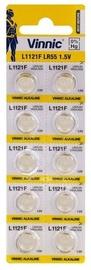 Vinnic AG8 L1121F LR55 Batteries 10x