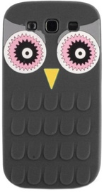 Forcell Soft 3D Owl Back Case For Sony Xperia XA Black
