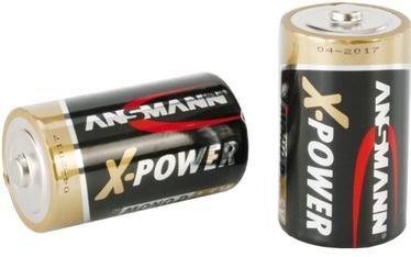 Ansmann X-Power Alkaline Battery Mono D 2 pcs