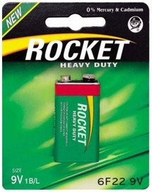 Rocket Heavy Duty 6F22-1BB 9V 1pcs
