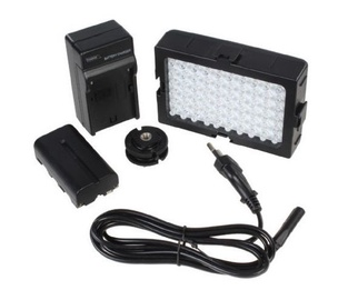 Falcon Eyes DV60 LED Lamp Set w/ Battery