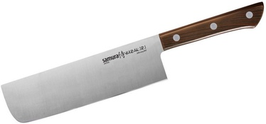 Samura Harakiri Universal Kitchen Nakiri Knife 17cm Brown