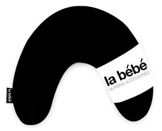 La Bebe Mimi Nursing Cotton Pillow Solid Black