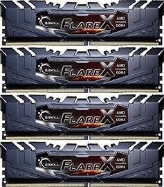G.SKILL Flare X for AMD 64GB 2933MHz CL16 DDR4 KIT OF 4 F4-2933C16Q-64GFX