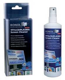 Ronol TFT/LCD/PLASMA Screen cleaner 125ml + Wipes