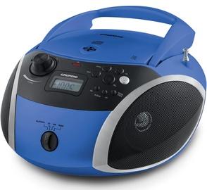 Grundig GRB 3000 CD Player Blue Silver