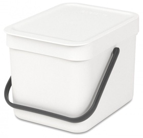 Brabantia Sort and Go 6l White
