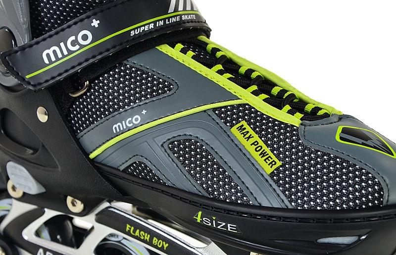 Mico Plus Flash Boy Grey/Green 29-32