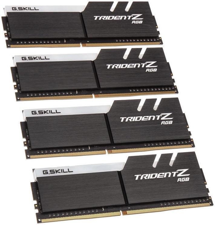 G.SKILL Trident Z RGB For AMD Ryzen 32GB 2400MHz CL15 DDR4 KIT OF 4 F4-2400C15Q-32GTZRX