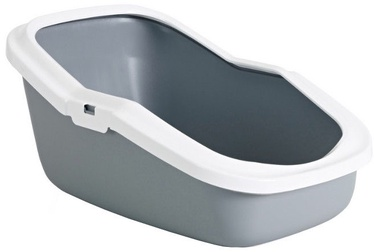 Savic 00204 Aseo Cat Litter Tray with Rim