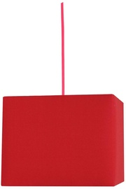 Candellux Basic Hanging Ceiling Lamp 60W E27 Red