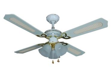 Светильник с вентилятором NS42-WP-R4C3BEA, E14, 3x60Вт