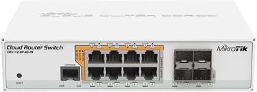 MikroTik CRS112-8P-4S-IN 8-port