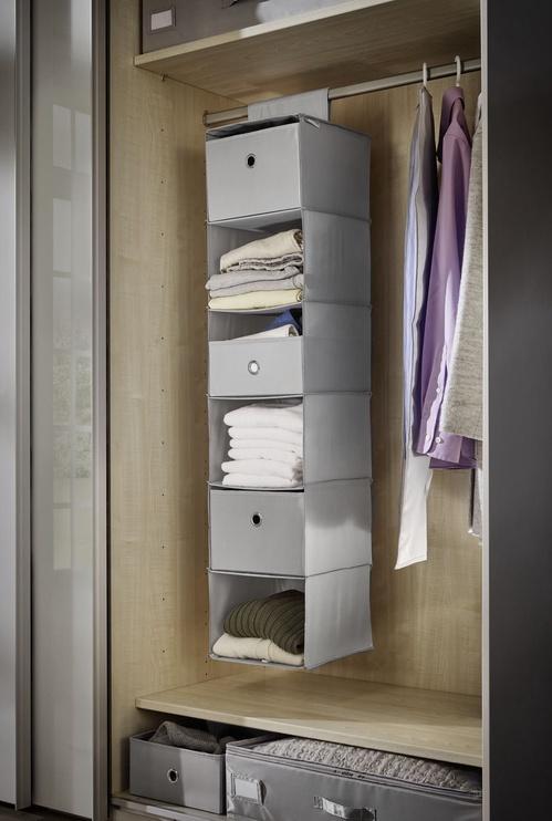 Leifheit Hanging Organizer 30x30x125cm Grey/Combi System