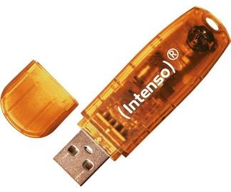 USB mälupulk Intenso Rainbow Line Orange, USB 2.0, 64 GB