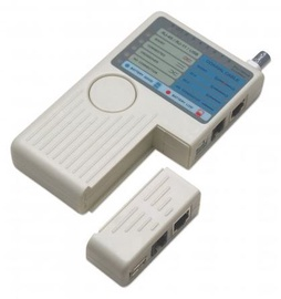 Intellinet Cable Tester For RJ11 / RJ45 / BNC / USB