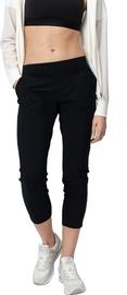 Naiste 3/4 püksid Audimas Sensitive, must, S