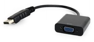 Gembird Adapter Displayport to VGA Black