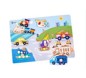 Hariv mänguasi, Transport, puust