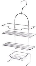 Axentia Escala Bathroom Wall Shelf 3-Tier Universal