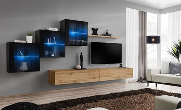 ASM Switch XX Wall Unit Black/Wotan