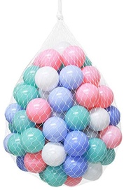 Selection Of Balls 200pcs Pastel Colors