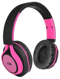 ART AP-B04 Bluetooth Headphones w/Microphone Black/Pink