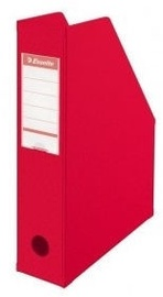 Esselte Vertical Tray PVC Folding 7cm Red