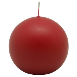 SN Round Candle D8cm Red