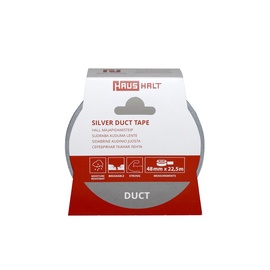 HausHalt Silver Duct Tape 48mm 22.5m