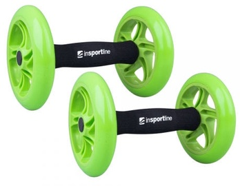 inSPORTline Exercise Wheel AB Roller Double