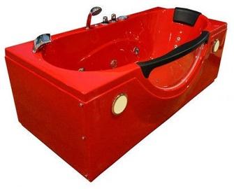 SN Bath RD1002 180x85x65cm Red
