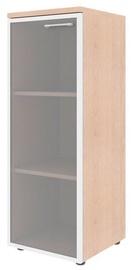 Skyland Xten Office Cabinet XMC 42.7 Left Tiara Beech