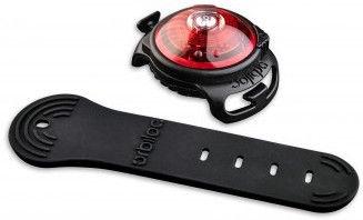 Orbiloc Dog Dual Safety Light Black/Red