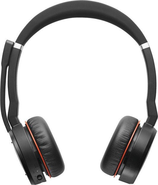 Kõrvaklapid Jabra Evolve 75 Black, juhtmevabad