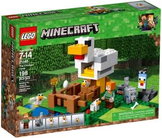 Конструктор LEGO®Minecraft 21140 Курятник