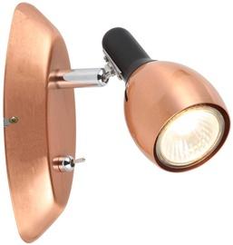 Candellux Cross 91-32768 GU10 1x50W Wall Lamp Copper