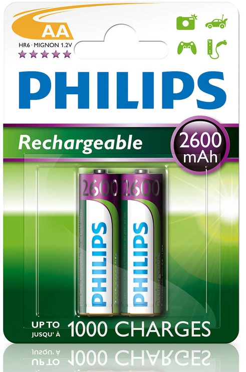 Philips Rechargeable R6B2A260/10