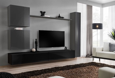 ASM Switch VIII Wall Unit Graphite/Black