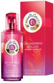 Roger & Gallet Gingembre Rouge Eau Fraiche Fresh Fragrant Water 100ml EDF